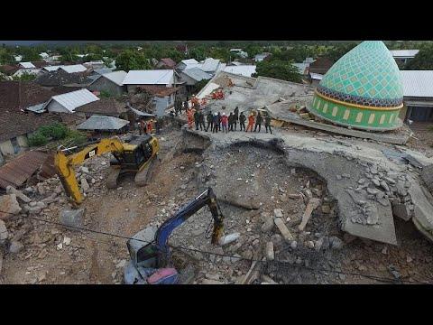 Ινδονησία: Νέος σεισμός 5,9 βαθμών στο Λομπόκ – Κτίρια κατέρρευσαν…