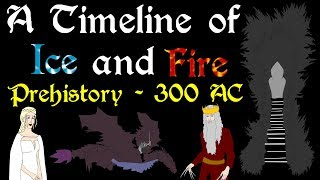 "A Timeline spanning from the Dawn Age to the dragonlords of Valyria who ruled thousands of years later and the Targaryen Kings of Westeros after that, extending to the year 300 and the War of the Five Kings. Based on the series A Song of Ice and Fire by George R. R. Martin.**Disclaimer: In creating this Timeline it became apparent many of the dates provided are educated estimates, as GRRM himself has stated he does not have an exact timeline. Therefore much of the work that has gone into organizing the events of these book chronologically was done by fans, primarily from Westeros.orgThe Following Links will take you to the forum discussion and the document they have created. The work they did on this Timeline is absolutely incredible and they deserve 100% of the credit for figuring out many of the Dates covered in this video.Forum Discussion: http://asoiaf.westeros.org/index.php/topic/84563-most-precise-asoiaf-timeline-in-existence/Excel Document (ASOIAF Timeline): https://docs.google.com/spreadsheet/ccc?key=0Aj_uNZmcJaTddG9BVU5tRnJJTE5KcE5JRkFha1ZfNUE#gid=8**Support Civilization Ex with a Monthly Pledge of your choice at:https://www.patreon.com/civilizationexFollow us https://twitter.com/civilizationexVisit our Site: http://www.civilizationex.com/1. Music by Ross Bugden (RFGB): ""Ice and Fire""https://www.youtube.com/channel/UCQKG...2. Renaissancehttp://www.audionautix.com/3. ""Ancient Heroes"" by XeroVhttps://www.facebook.com/Xer0Voidhttps://www.youtube.com/watch?v=UZW72...4 - 6. Next 3 Songs - Music by audionautix.comhttp://www.audionautix.com/7. Music by Ross Bugden (RFGB): ""Chosen""https://www.youtube.com/watch?v=NDg2k...8. Music by Ross Bugden (RFGB): ""House Stark""https://www.youtube.com/watch?v=2RPxW...9. Music by RFGB ""Last Dawn""https://www.youtube.com/watch?v=wWjgs...10. ""The Emotional Journey""https://www.youtube.com/watch?v=kzKWi...11. ""Flight Hymn""https://www.youtube.com/watch?v=XCr0b...If you would like to show your support, please Donate! :)https://www.paypal.com/cgi-bin/webscr..."