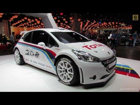 2013 Peugeot 208 Type R5 - Exterior Walkaround - 2012 Paris Auto Show