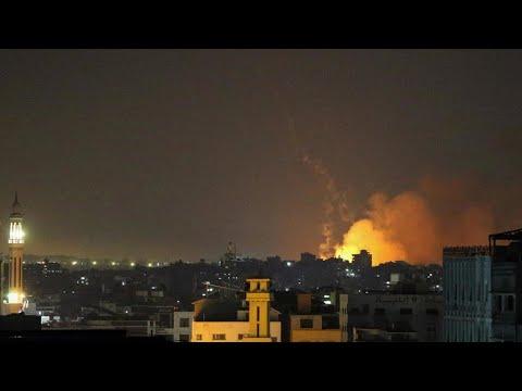 Israël procède à des tirs d'artillerie sur Gaza