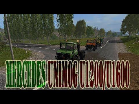 Mercedes Unimog U1200/U1600 v2.0.0