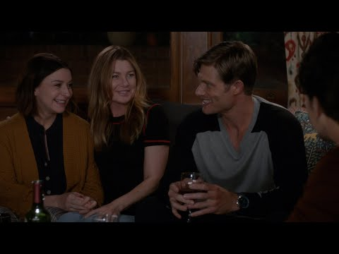Amelia and Link Tell Meredith About the Baby - Grey's Anatomy