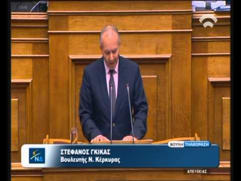 Ομιλία Γκίκα στην Βουλή στο ν/σ για την Ελληνική Ιθαγένεια (ΒΙΝΤΕΟ)