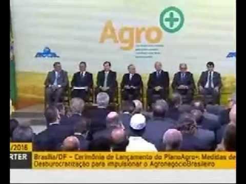 Vice-Presidente da CNA participa do Lançamento do Plano Agro+