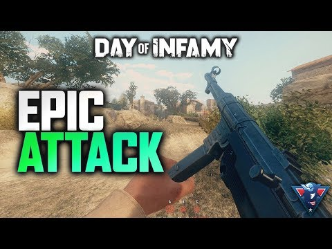 AN EPIC ATTACK! | Day of Infamy Gameplay