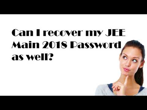 How to recover forgotten JEE Main 2018 Application Number
