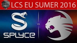 Splyce vs Roccat, game 1
