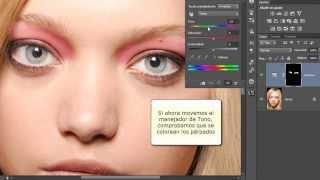 Técnicas profesionales de retoque de ojos con Photoshop
