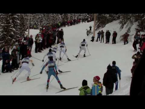 xc ski - Olympic and World cup racers demonstrate the cross country (nordic) ski skiing technique. Offset or V1 Technique. For the comprehensive professional version ...