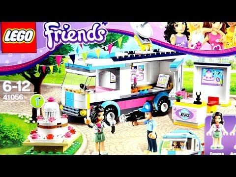 """Конструктор LEGO Friends 41056 """"Газетный фургончик Хартлейк"""""""