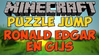 Minecraft: Puzzle jump met Ronald, Gijs en Edgar - DEEL 2