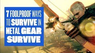 Video 7 foolproof way to survive in Metal Gear Survive - Metal Gear Survive gameplay MP3, 3GP, MP4, WEBM, AVI, FLV Januari 2018