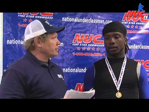 Dimitri Leverett - Leadership Award - National Underclassmen 5 Star Florida Showcase