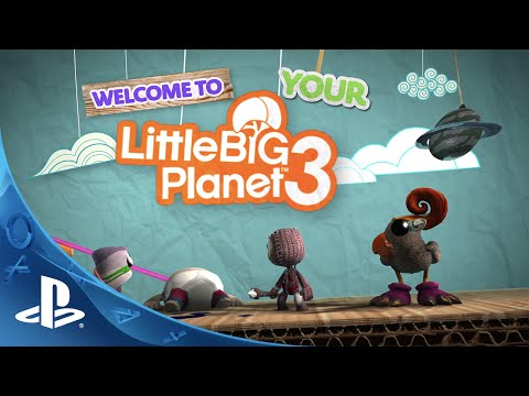 Little Big Planet 3 Dual Shock 4 Jet Black Bundle Set