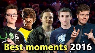 Best moments of 2016 — Dota 2