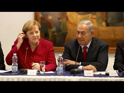 Israel: Schwierige Gespräche - Merkel trifft Netanj ...