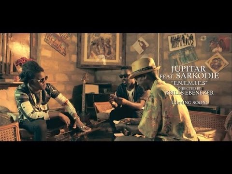 Jupitar - Enemies ft Sarkodie {Official Video}