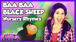 Baa Baa Black Sheep, Nursery Rhymes with lyrics