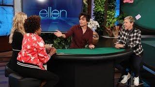 Video 'America's Got Talent' Winner Deals Up an Amazing Trick for Ellen, Wanda Sykes, and Beth Behrs MP3, 3GP, MP4, WEBM, AVI, FLV Juli 2019