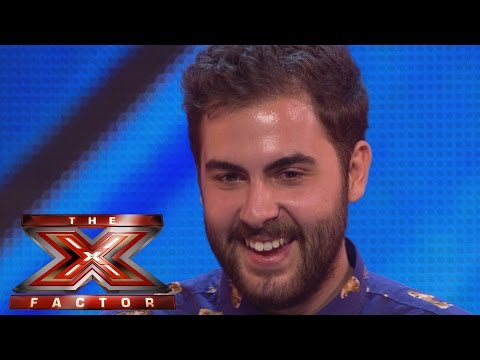 andrea - Visit the official site: http://itv.com/xfactor The Italian Pug fan is back and he's brought his mum and dad Andrea gives it his all as he sings Otis Reading...