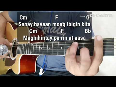 Bakit Ba Ikaw by Michael Pangilinan (Acoustic Minus One/Lyrics/Karaoke With Guitar Chords)