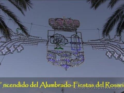 Encendido del Alumbrado Fiestas del Rosario Isla Cristina 2019