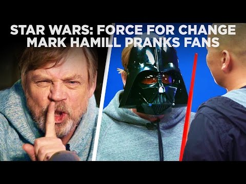 Luke Skywalker Pranks His Fans
