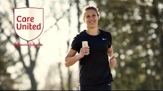 Join Carli Lloyd in the #CareUnited challenge by running, biking or walking in the Charity Miles app for the USO. Subscribe to JNJ on YouTube:  http://www.youtube.com/subscription_center?add_user=JNJHealthJ&J on Google Plus: http://plus.google.com/+JNJJ&J on Facebook: http://www.facebook.com/jnjJNJ Cares on Twitter: http://www.twitter.com/jnjcaresOur News Center: http://www.jnj.com/our-news-center