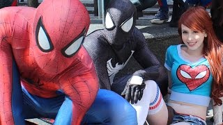 SPIDER-MAN in Real Life! JOKER, VENOM, GREEN GOBLIN, SPIDER-VERSE - TheSeanWardShow
