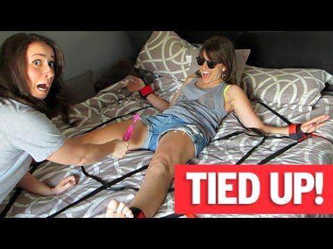 Lesbian Ties Up Straight Girl