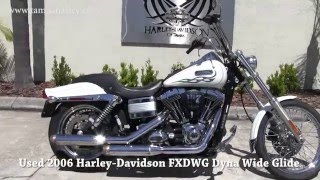 4. 2006 Harley Davidson Dyna Wide Glide for sale