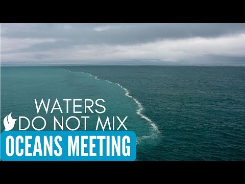 TWO OCEANS MEET BUT NOT MIX | Cape Town - Atlantic and India ocean meeting point