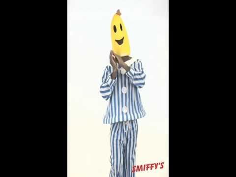 Deguisement de bananes en pyjama