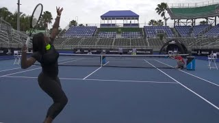 Serena Williams Joins Dude Perfect to Show Off Her Tennis Trick Shots