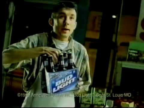 """Bud Light """"Paper Or Plastic"""" Commercial - Funny"""