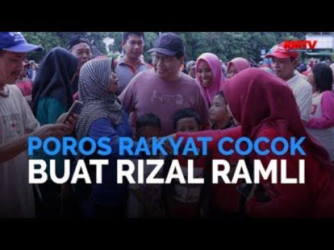 Poros Rakyat Cocok Buat Rizal Ramli