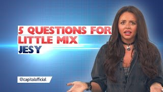 Jesy From Little Mix Hates American Toilets! (5 Questions For)