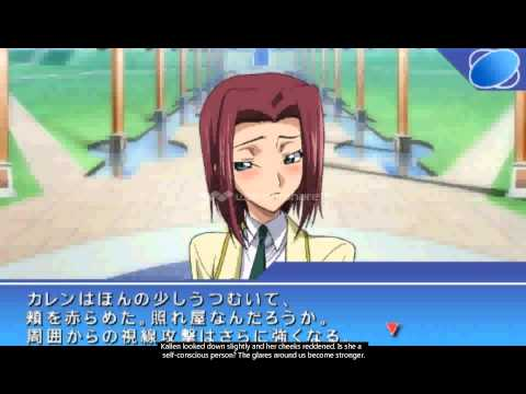 code geass lost colors psp gameplay