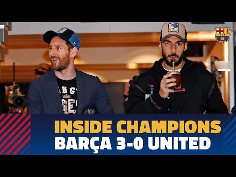 BARÇA 3-0 MANCHESTER UNITED | Inside Champions