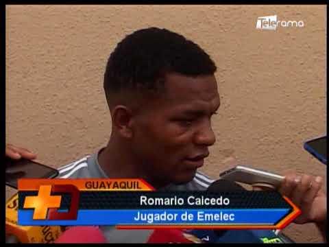 Emelec con una baja para debut en campeonato Liga Pro