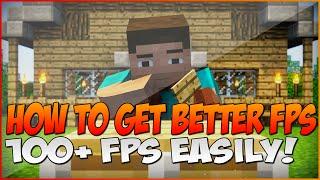 """Video """"How to Make Minecraft Run Faster"""" : """"Easily Increase FPS In Minecraft"""" - 100+ FPS! Minecraft 1.10 MP3, 3GP, MP4, WEBM, AVI, FLV Desember 2018"""