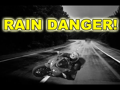 How To Ride Motorcycle in Rain - STOP THE LIES! | MotoVlog