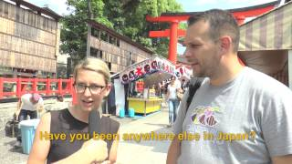 Travelers' Voice of Kyoto:FUSHIMI INARI Area Interview 004