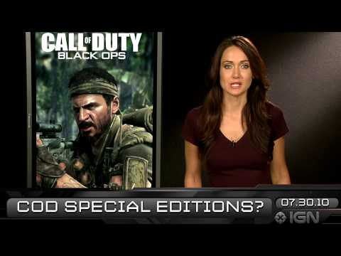 preview-IGN Daily Fix, 7-30: Black Ops Special Edition & Giveaway (IGN)