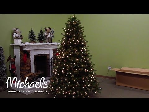 video - Michaels Artificial Christmas Trees