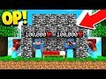 INVINCIBLE OBSIDIAN HOUSE GLITCH! (Minecraft Bedwars)