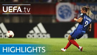 Watch the best of the action from this Group C match at UEFA Women's EURO 2017. Subscribe: http://www.youtube.com/subscription_center?add_user=uefaFacebook: https://www.facebook.com/uefacomTwitter: https://twitter.com/UEFAcomG+: https://plus.google.com/+UEFAcomhttp://uefa.com