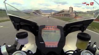7. TOP Speed | 301 Km/h in Mugello mit KTM RC8-R