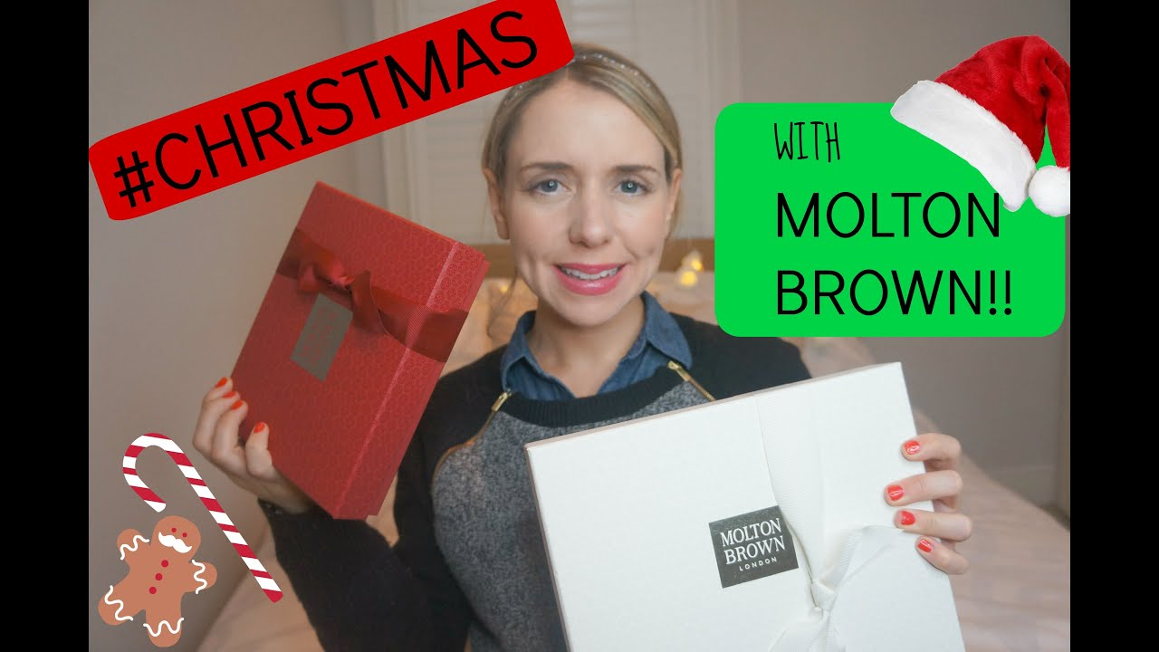 Christmas with Molton Brown!!