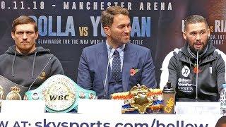 Oleksandr Usyk vs Tony Bellew FINAL PRESS CONFERENCE | Matchroom Boxing